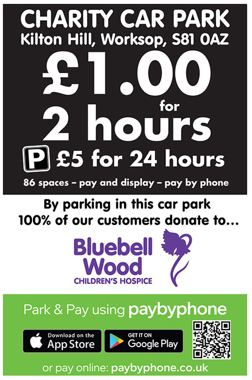 New Charity Car Park in Bolton